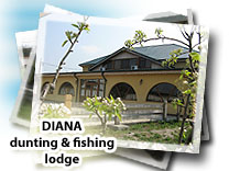 Hunting and fishing lodge Diana Portaresti - Dolj